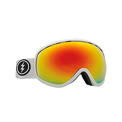 6e263c6ce915 Electric Masher Goggle - 2018 Gloss White Brose Red Chrome + 50% Coupon