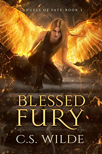 Blessed Fury: An Urban Fantasy Romance (Angels of Fate Book 1)