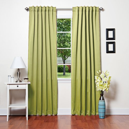 Best Home Fashion Thermal Insulated Blackout Curtains - Backtab/ Rod Pocket