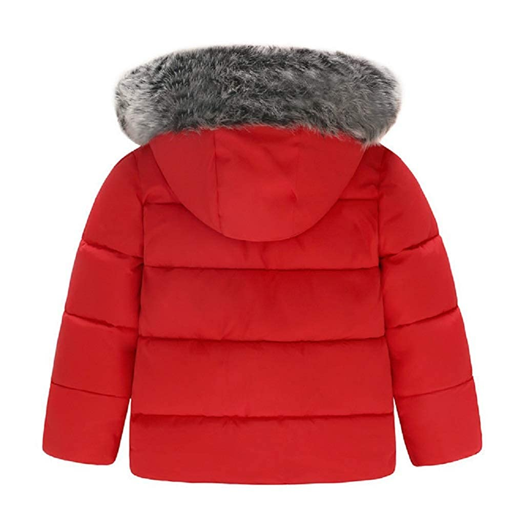Jojobaby Baby Boys Jacket Coat Kids Warm Thick Hooded Children Outerwear Coat Toddler Girl Boy Clothing
