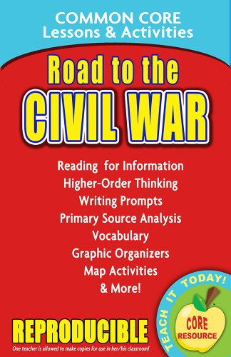 Road to the Civil War - Common Core Lessons and Activities