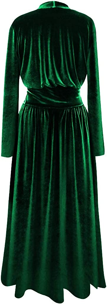Sanctuarie Designs Plus Size Soft /& Silky Velvet Robe with Attached Belt
