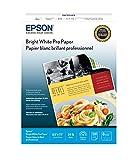 "Epson Bright White Paper 8.5 x 11"" (500 Sheets) - S041586"