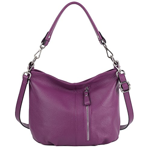 Purple Hobo Handbag - 4