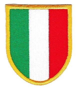 Italien Wappen Aufnaher Bugelbild