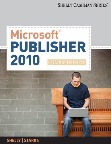 Microsoft Publisher 2010: Comprehensive (SAM 2010 Compatible Products) Pdf