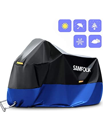 Funda Protectora para Moto & Scooter, Samfolk 210D Cubre Moto Cubierta Impermeable, Accesorios Moto