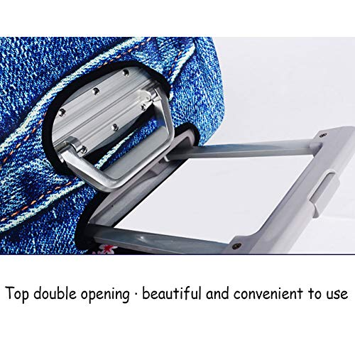 Hbwz Suitcase Cover, Protective Luggage Cover, Elastic Stretch Protection Dustproof Zipper Protector Cover,B,M