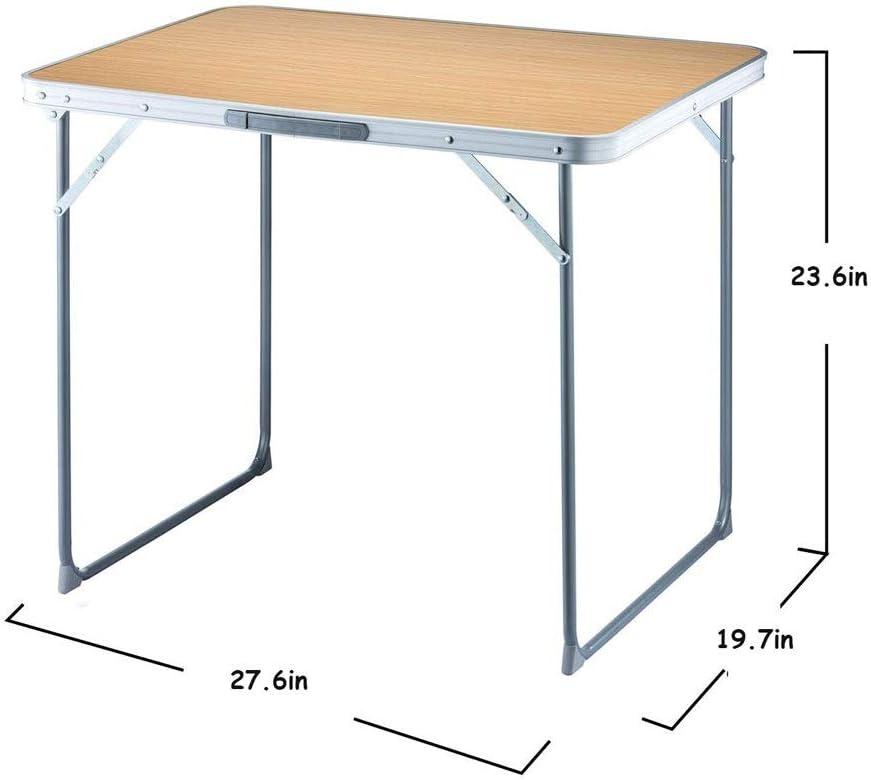 Plegable sencilla Mesa de comedor rectangular de Hogares Tabla ...