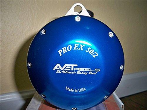 Avet Trolling Reel (AVET EXW50/2RH-BL 2-Speed Reel, Blue, Right Hand)