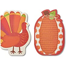 American Greetings Turkey Thanksgiving Card, 6-Count