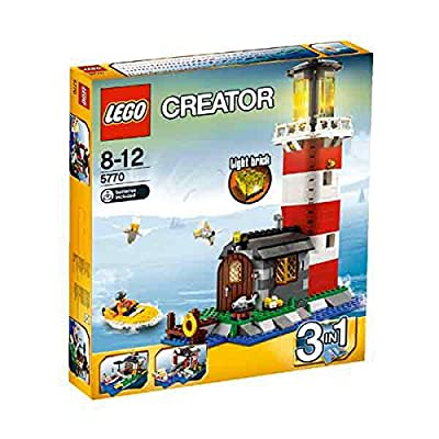 LEGO Creator Lighthouse Island 5770: Toys & Games
