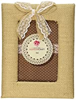 Fashioncraft Rustic Burlap Frame with Bow from Gifts