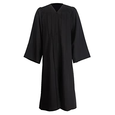 GraduationMall Unisex Premium Matte Graduation Gown Only for Halloween