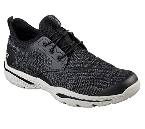 Skechers Mens Sneaker Fit Relaxed-creston-argest Nera