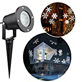 perfect landscape design ideas around patio Christmas Snowflakes Projector Light, Messar Outdoor LED Christmas Lights Waterproof Snowflake Landscape Projector Spotlight for Garden, Lawn and Holiday Decoration