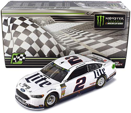 Lionel Racing Autographed Brad Keselowski 2018 Clash At Daytona Race Win NASCAR Diecast Car 1:24 Scale Hand-Signed with a Certificate of - Diecast Manufacturers Car