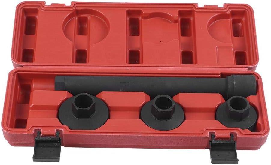KIMISS Instalador de la junta de dirección, 4pcs/Set Rack de dirección Knuckle Track Rod End Axial Joint Remover Installer Tool