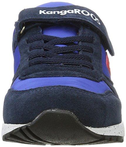 Blue Baskets Chinu k Enfant Mixte Kangaroos Ev brillant Red 4041 Bleu 0OxSx6w