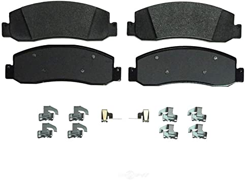 Rear Ceramic Brake Pads Set For 2008-2009 Ford F-250 Super Duty Low Dust