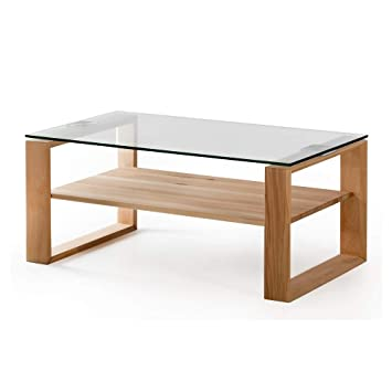 Alkove Hayes Table Basse Moderne En Bois Massif Avec Plateau En