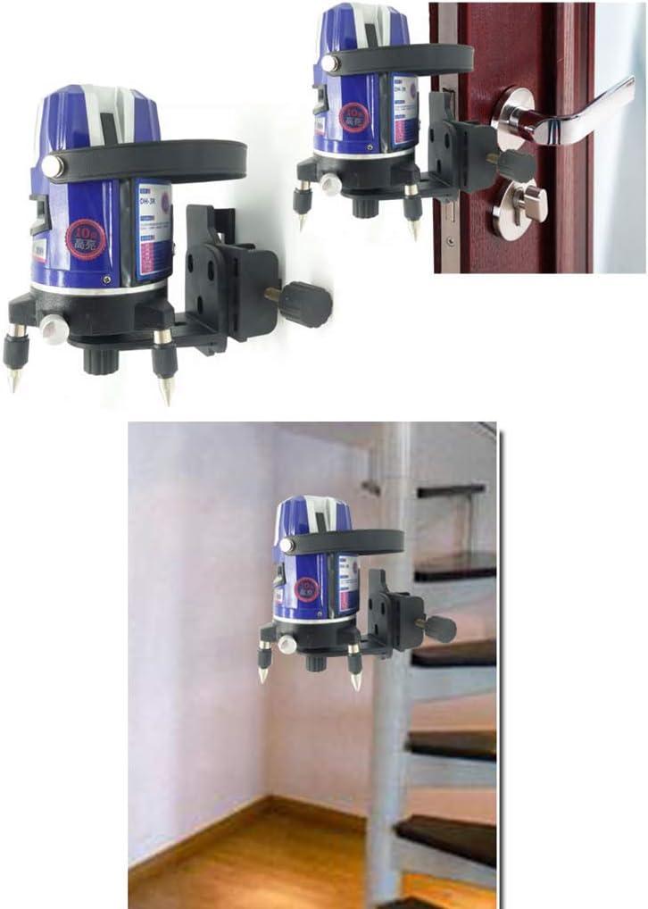 JunYe Support de Niveau Laser 5//8pour rallonge et Hauteur r/églable pour Niveau Laser Universel