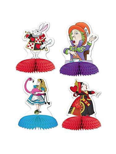 Beistle Alice in Wonderland Mini Centerpieces 5-Inch -