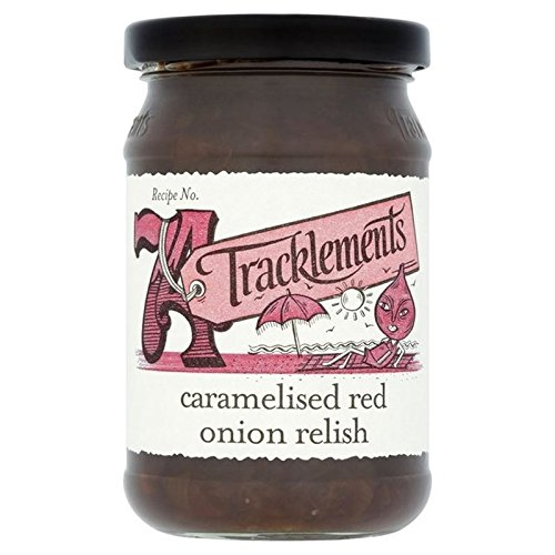 Tracklements Caramelised Red Onion Relish 300g (Relish Red)