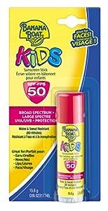 Banana Boat Sunscreen Kids Broad Spectrum Sun Care Sunscreen Stick - SPF 50