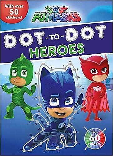 Pj Masks Dot-to-dot Heroes: Amazon.es: Parragon Books Ltd: Libros en idiomas extranjeros