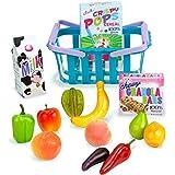 Sophia's 18 Inch Doll Grocery Basket & Food Set