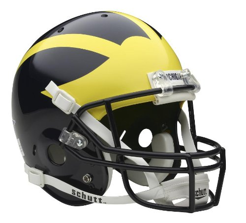 Schutt NCAA Michigan Wolverines Replica Helmet by Schutt