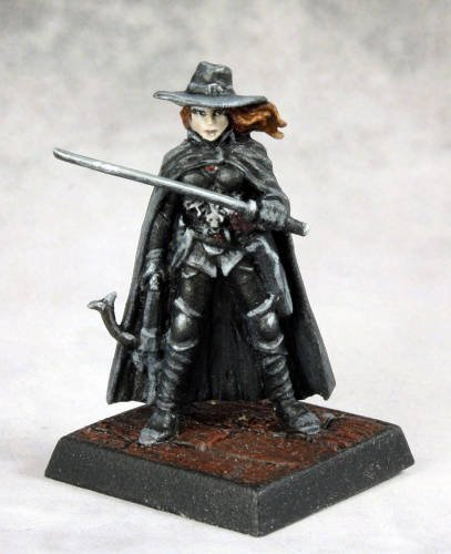 Pathfinder Vampire Hunter Miniature Reaper ()