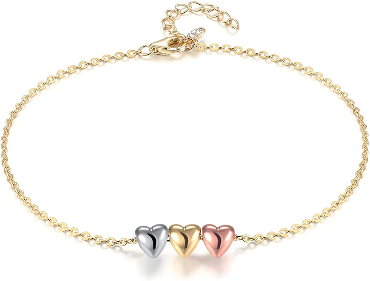 Mevecco Oval Circle Anklet...
