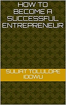 how to become a successful entrepreneur pdf