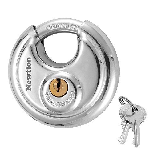 Newtion Lock Keyed Padlock, 304 Stainless Steel...