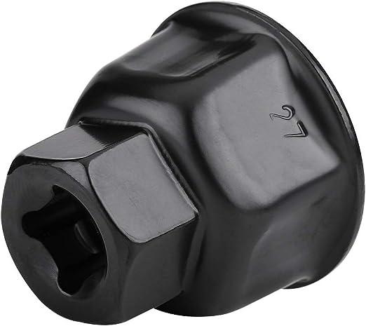 BiuZi 27mm 3//8Cartridge Style Auto /Ölfilterschl/üssel Cap Drive Remover Tool for Mercedes-Benz /Ölfilterschl/üssel