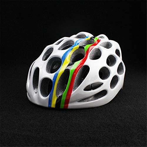 ZWYY Bike Helmet, Lightweight Mountain Road Cycling Helmet Man Women Sports Safety Helmet Breathable Portable Adults Skate Helmet,Color