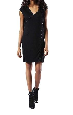 acheter juste prix matériau sélectionné DIESEL D-ANI Abito Robe pour Femme (S, Noir): Amazon.fr ...
