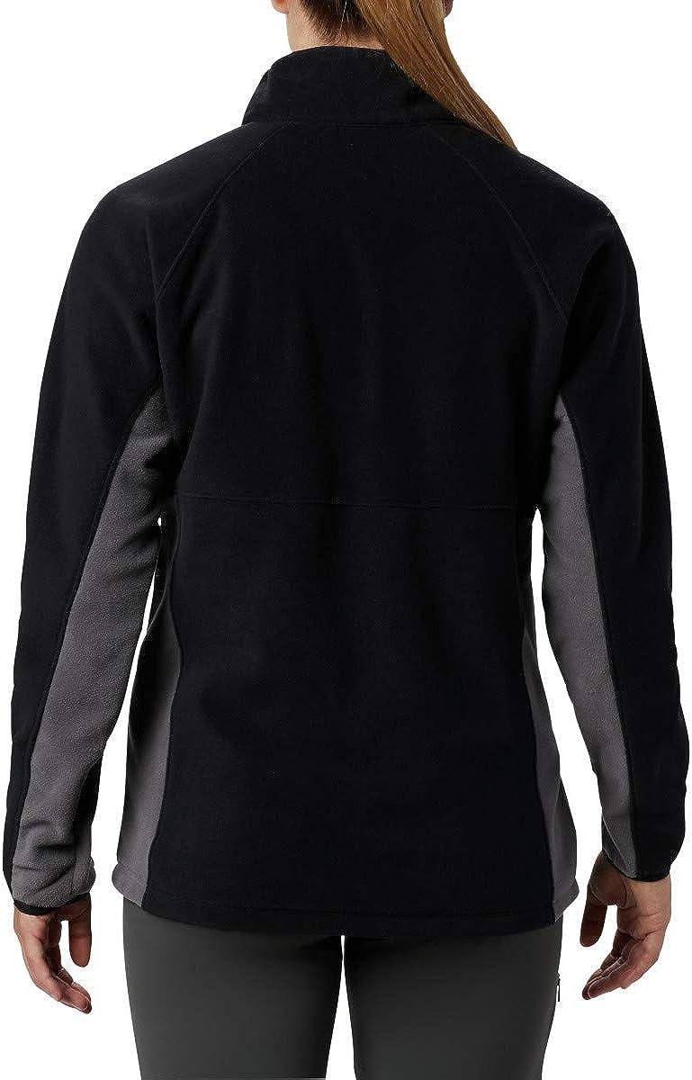 Columbia Basin TrailTM Fleece Full Zip Black, City Grey