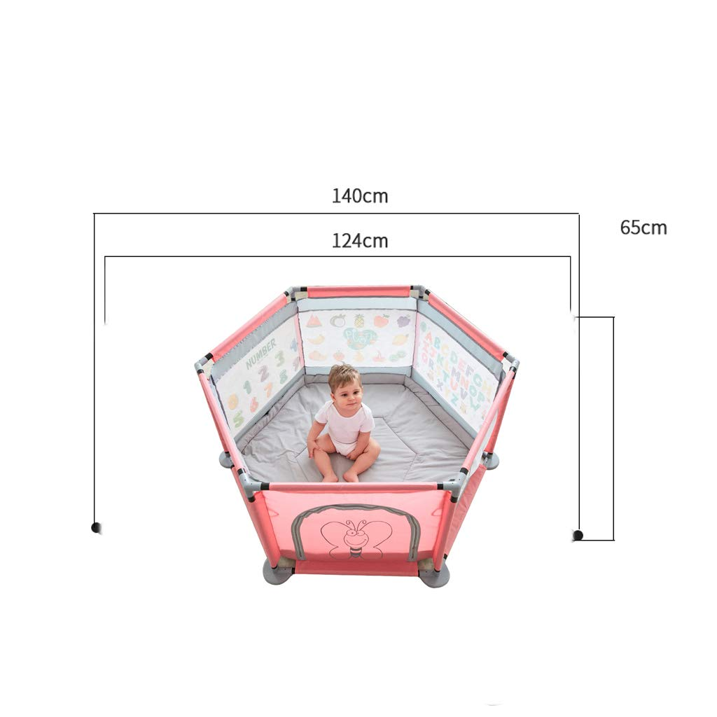 SONGTING Guardrail Bed Rail Safety Bedrail with Ventilated Mesh for Children Game Fence Infant Child Home Baby Crawling Mat Toddler Safety Protection Indoor Paradise Marine Ball Pool by SONGTING Guardrail (Image #2)