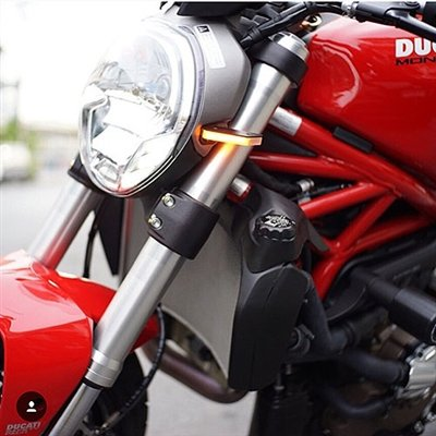 Ducati Monster 696 Front Turn Signals - New Rage Cycles -
