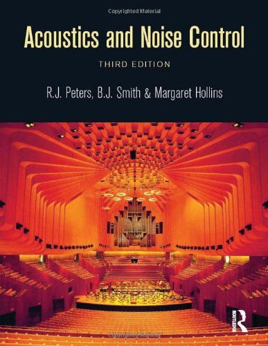 Acoustics and Noise Control by Peters R J (2011-06-09) Paperback