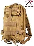 Coyote Tan Military MOLLE Medium Transport Backpack