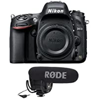 Nikon D610 FX-format DSLR Camera Body, 24.3MP, - With Rode Microphones VideoMic Pro R Cardioid Condenser Microphone