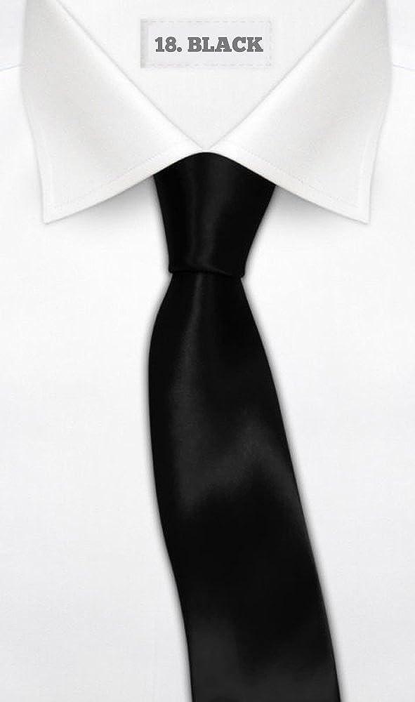 OM3 - Corbata - para hombre Negro negro talla única: Amazon.es ...