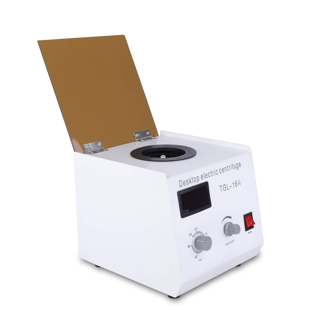 TFCFL Electric Benchtop Centrifuge TGL-16A Digital Display High-Speed Lab Centrifuge 16000RPM by TFCFL