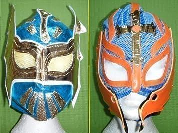 color variará Rey Mysterio - Azul Sin Cara Máscara Para Niños