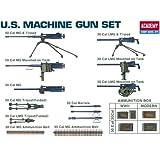 gun model - Academy U.S. Machine Gun Set