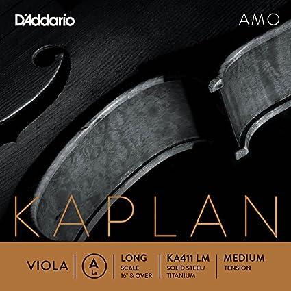 Daddario Orchestral Ka414 Lh L.Heav - Cuerda viola D' Addario